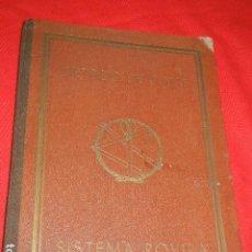 Libros antiguos: METODO DE CORTE SISTEMA ROVIRA - HACIA 1904. Lote 140399870