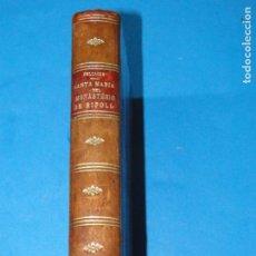 Libros antiguos: SANTA MARIA DEL MONASTERIO DE RIPOLL .- PELLICER Y PAGÉS, JOSÉ M.ª.-. Lote 140411514