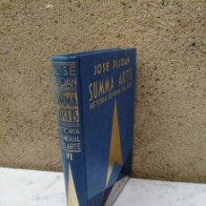Libros antiguos: SUMMA ARTIS EL ARTE PREHISTORICO EUROPEO TOMO VI. Lote 140437706