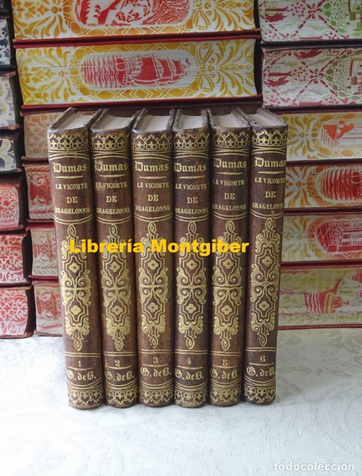 LE VICOMTE DE BRAGELONNE . OU DIX ANS PLUS TARD, COMPLÉMENT DES TROIS MOUSQUETAIRES ET DE VINGT ANS (Libros antiguos (hasta 1936), raros y curiosos - Literatura - Narrativa - Otros)