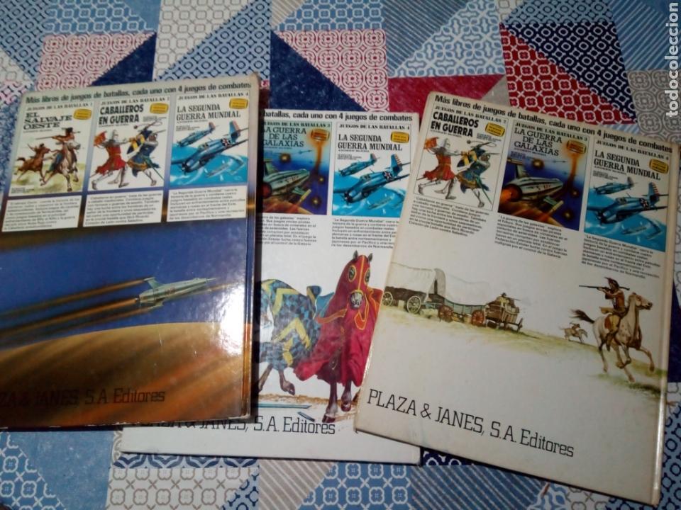 Alte Bücher: los 3 primeros libros juegos de las batallas oeste caballeros y las galaxias plaza y janes - Foto 5 - 140598458