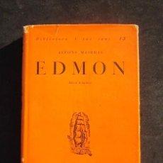 Libros antiguos: ALFONS MASERAS: EDMON, PROA, 1929. Lote 140605510