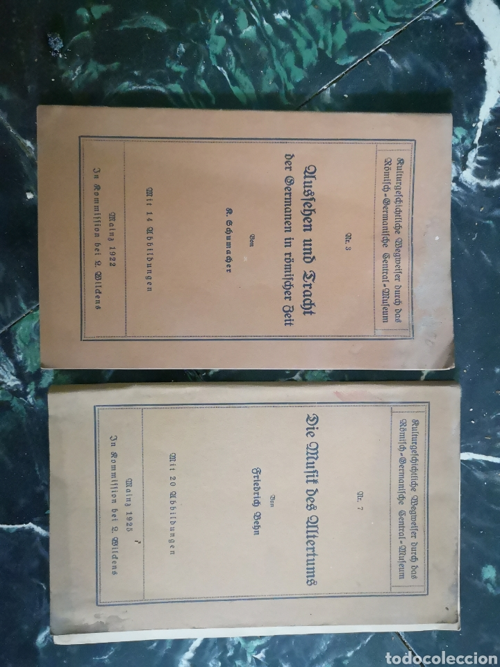 KULTURGESCHICHTLICHE WEGWEISER DURCH DAS RÖMISCH-GERMANISCHE CENTRAL-MUSEUM. [NM 3 Y 7) EN ALEMAN (Libros Antiguos, Raros y Curiosos - Otros Idiomas)
