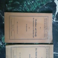 Libros antiguos: KULTURGESCHICHTLICHE WEGWEISER DURCH DAS RÖMISCH-GERMANISCHE CENTRAL-MUSEUM. [NM 3 Y 7) EN ALEMAN. Lote 140626780