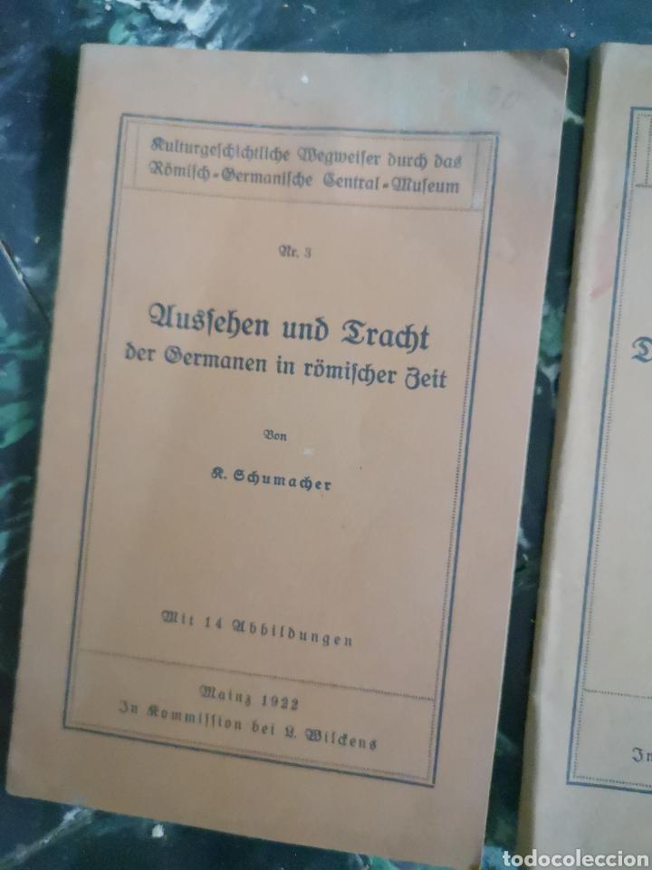 Libros antiguos: KULTURGESCHICHTLICHE WEGWEISER DURCH DAS RÖMISCH-GERMANISCHE CENTRAL-MUSEUM. [NM 3 Y 7) EN ALEMAN - Foto 3 - 140626780