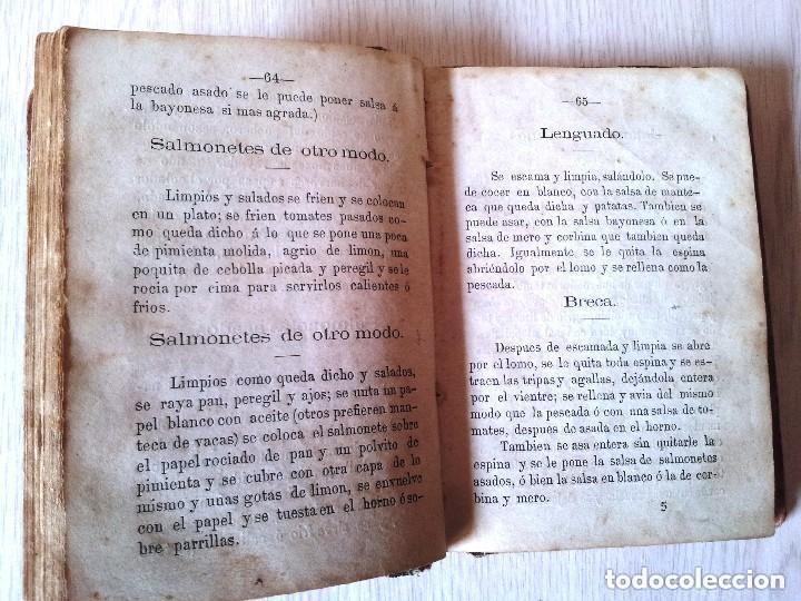 Libros antiguos: GUILLERMO MOYANO - EL COCINERO ESPAÑOL Y LA PERFECTA COCINERA - PRIMERA EDICION MALAGA 1867 - Foto 4 - 140691926