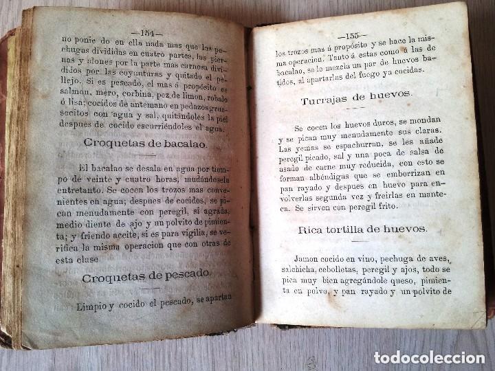 Libros antiguos: GUILLERMO MOYANO - EL COCINERO ESPAÑOL Y LA PERFECTA COCINERA - PRIMERA EDICION MALAGA 1867 - Foto 5 - 140691926
