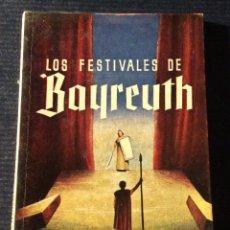Libros antiguos: MINILIBRO ENCICLOPEDIA PULGA N- 144. LOS FESTIVALES DE BAYREUTH. J. MARTIN. Lote 140721466