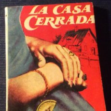 Livres anciens: MINILIBRO ENCICLOPEDIA PULGA N- 393. LA CASA CERRADA. A.E.W. MASON. Lote 140721766