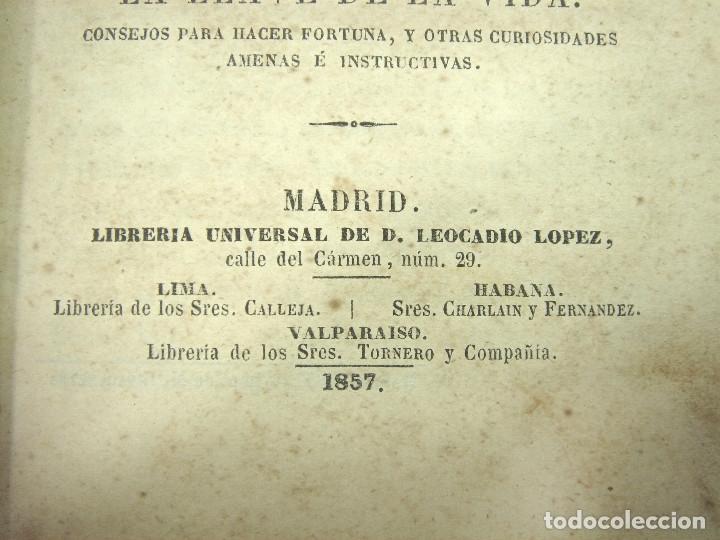 Libros antiguos: 1857 - EL LIBRO DE LAS FAMILIAS - NOVISIMO MANUAL PRACTICO -COCINA HIGIENE ECONOMIA DOMESTICA 7º EDI - Foto 3 - 140822206