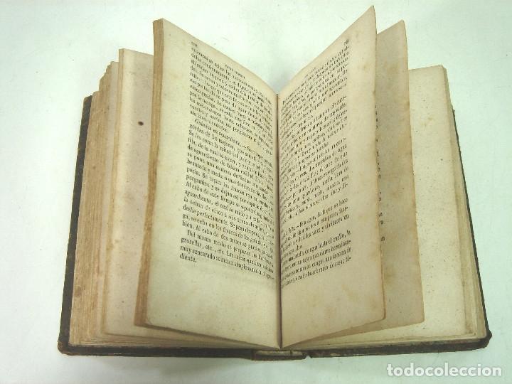 Libros antiguos: 1857 - EL LIBRO DE LAS FAMILIAS - NOVISIMO MANUAL PRACTICO -COCINA HIGIENE ECONOMIA DOMESTICA 7º EDI - Foto 5 - 140822206