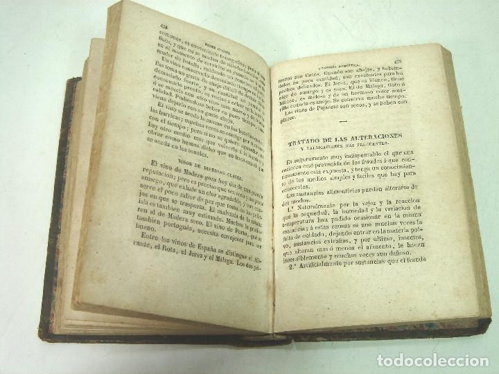 Libros antiguos: 1857 - EL LIBRO DE LAS FAMILIAS - NOVISIMO MANUAL PRACTICO -COCINA HIGIENE ECONOMIA DOMESTICA 7º EDI - Foto 6 - 140822206