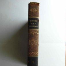 Libros antiguos: HISTOIRE DE N. S. JESUS-CHRIST, DE FREDERIC LEOPOLD. TOME I. 1838. 565 PAGES. EN FRANCES. CCTT. Lote 140846442
