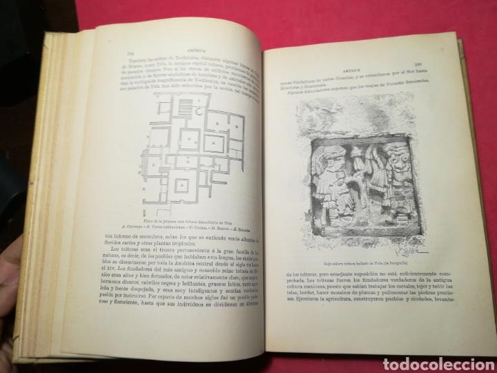 Alte Bücher: América, historia de su descubrimiento, obra en 3 tomos - Rodolfo Cronau - Montaner y Simón, 1892 - Foto 10 - 140881525