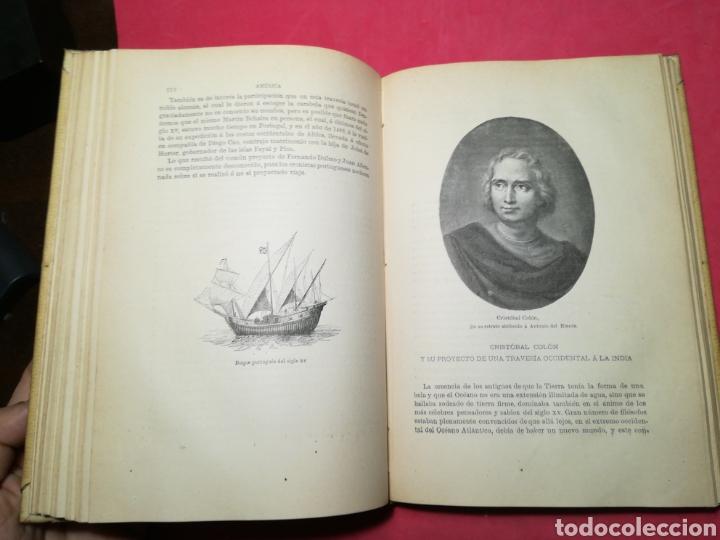 Alte Bücher: América, historia de su descubrimiento, obra en 3 tomos - Rodolfo Cronau - Montaner y Simón, 1892 - Foto 11 - 140881525