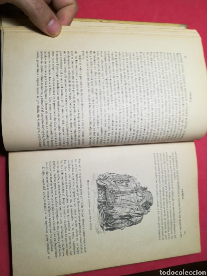 Alte Bücher: América, historia de su descubrimiento, obra en 3 tomos - Rodolfo Cronau - Montaner y Simón, 1892 - Foto 15 - 140881525