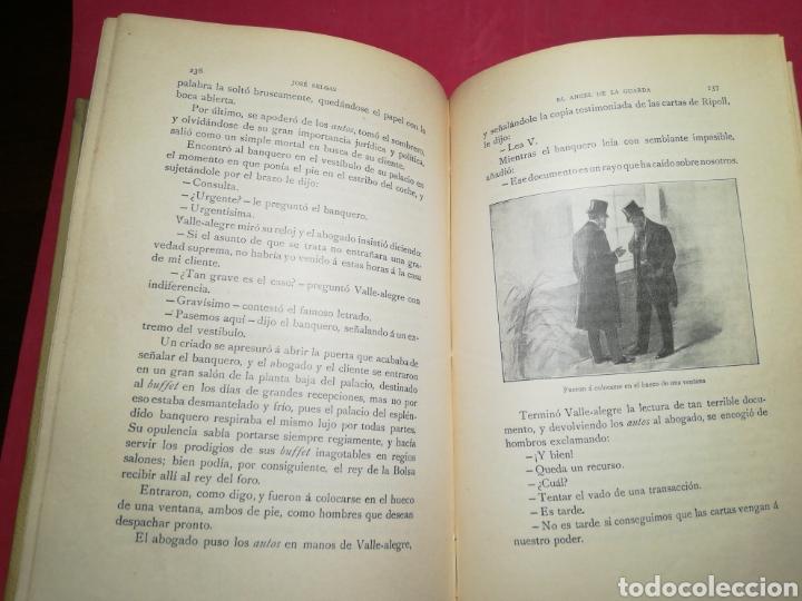 Alte Bücher: Deuda del corazón, el ángel de la guarda - José Selgas - Montaner y Simón, 1909 - Foto 13 - 140885129