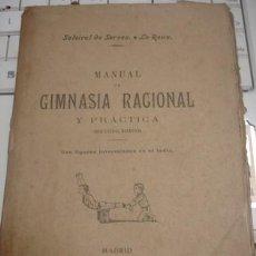Libros antiguos: MANUAL DE GIMNASIA RACIONAL Y PRACTICA MÉTODO SUECO - PORTAL DEL COL·LECCIONISTA *****. Lote 172899770