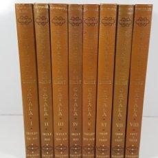 Libros antiguos: HISTORIA DE L´ART CATALA. 8 VOLUM. EDICIONS 62. BARCELONA. 1983/1986.. Lote 141180786