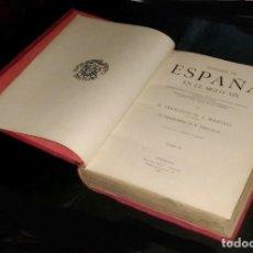 Libros antiguos: B1534 - HISTORIA DE ESPAÑA EN EL SIGLO XIX. TOMO 2. PI Y MARGALL. PI Y ARZUAGA. E. MIGUEL SEGUI 1903. Lote 141341966