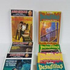 Libros antiguos: LOTE DE 8 LIBROS DE MISTERIO PARA ADOLESCENTES. Lote 141366922