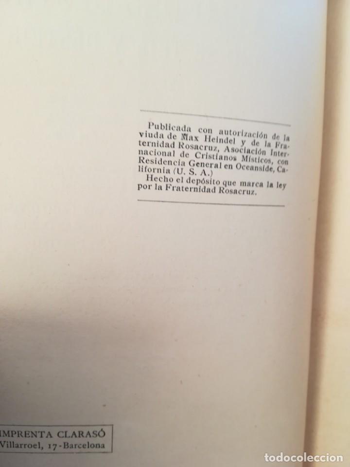 Libros antiguos: EL VELO DEL DESTINO,COMO SE TEJE Y SE DESTEJE-ROSACRUZ-MAX HEINDEL SINTES-APROX 1920-IMPECABLE - Foto 3 - 141516574
