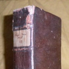 Libros antiguos: EPITOME DECRETALIUM GREGORII IX - AÑO 1720 - INQUISICION - JUDIOS.. Lote 141715662