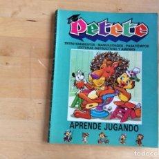 Libros antiguos: PETETE APRENDE JUGANDO NÚMEROS 140AL 147. Lote 141821638