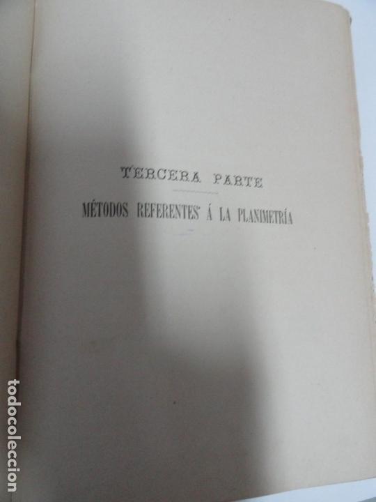Libros antiguos: Lecciones de Topografía (tomo ii) - Enrique Canovas 1916 - Foto 4 - 141812054