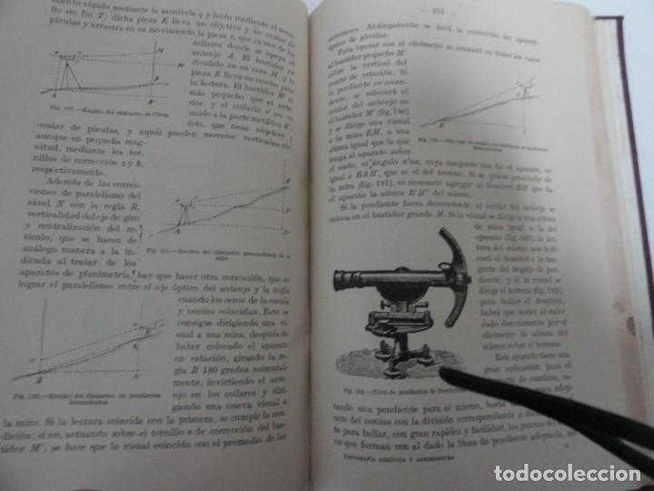 Libros antiguos: Lecciones de Topografía (tomo ii) - Enrique Canovas 1916 - Foto 5 - 141812054