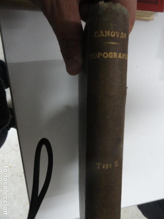 LECCIONES DE TOPOGRAFÍA (TOMO II) - ENRIQUE CANOVAS 1916 (Libros Antiguos, Raros y Curiosos - Ciencias, Manuales y Oficios - Otros)