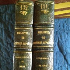 Libros antiguos: HISTORIAS PRIMITIVOS DE LA INDIA TOMO I-II. Lote 141946190