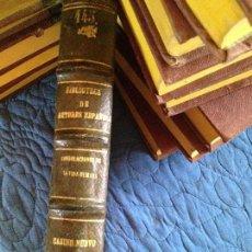 Libri antichi: ESCRITORES EN PROSA ANTERIORES AL SIGLO XV,RECOGIDOS ILUSTRADOS POR PASCUAL DE GAYANGOS. Lote 141947698
