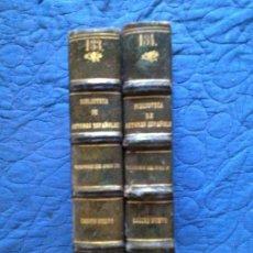 Libros antiguos: ESCRITORES DEL SIGLO XVII-TOMO I-Y II. Lote 141953518