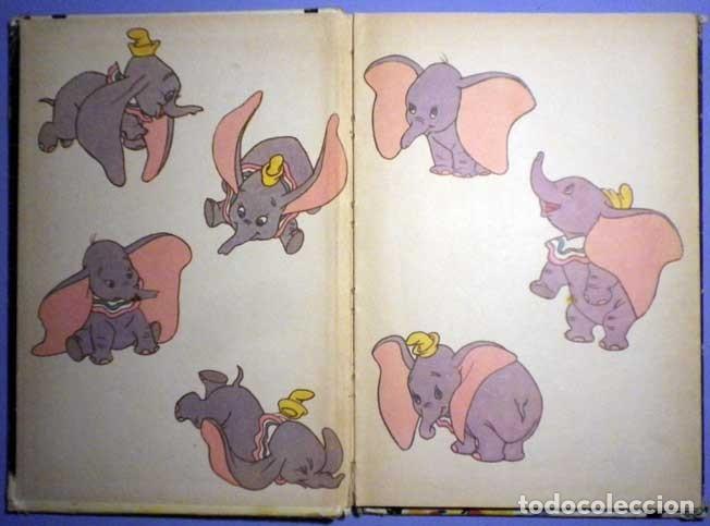 Libros antiguos: Dumbo el elefante volador walt Disney presenta 1985 club internacional del libro - Foto 3 - 141965498