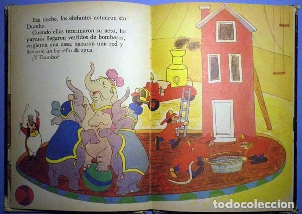 Libros antiguos: Dumbo el elefante volador walt Disney presenta 1985 club internacional del libro - Foto 8 - 141965498