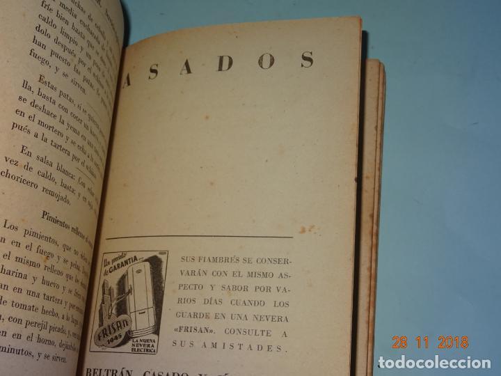 Libros antiguos: Antiguo Libro MI COCINA VIZCAINA ECONÓMICA de Mercedes Lezama Viuda de Porset - 6ª Edición - Foto 4 - 156665486