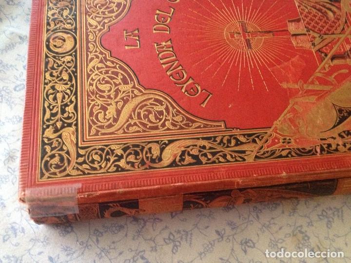 Libros antiguos: LEYENDA DEL CID- Zorrilla (Verso) 1882- coleccionistas y bibliofilos- Buen estado- - Foto 6 - 138652034