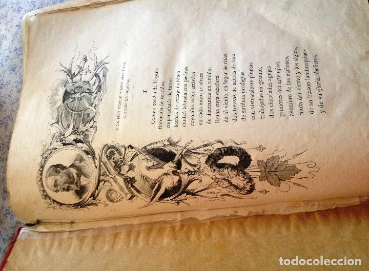 Libros antiguos: LEYENDA DEL CID- Zorrilla (Verso) 1882- coleccionistas y bibliofilos- Buen estado- - Foto 7 - 138652034