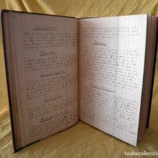 Libros antiguos: ANTIGUO LIBRO DE COCINA MANUSCRITO DEL SIGLO XIX - EXCEPCIONAL.. Lote 142035694