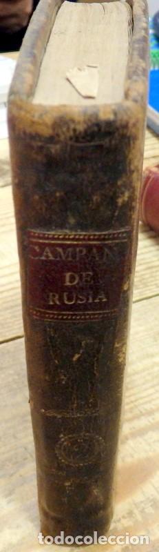 Libros antiguos: RELACIÓN CIRCUNSTANCIADA DE LA CAMPAÑA DE RUSIA EN 1812, con los planos de la batalla del Moskwa, de - Foto 3 - 142185730