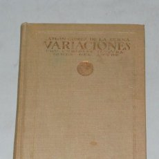 Libros antiguos: RAMÓN GÓMEZ DE LA SERNA - VARIACIONES - ATENEA 1922 PRIMERA EDICIÓN 3000 EJEMPLARES.. Lote 142205050