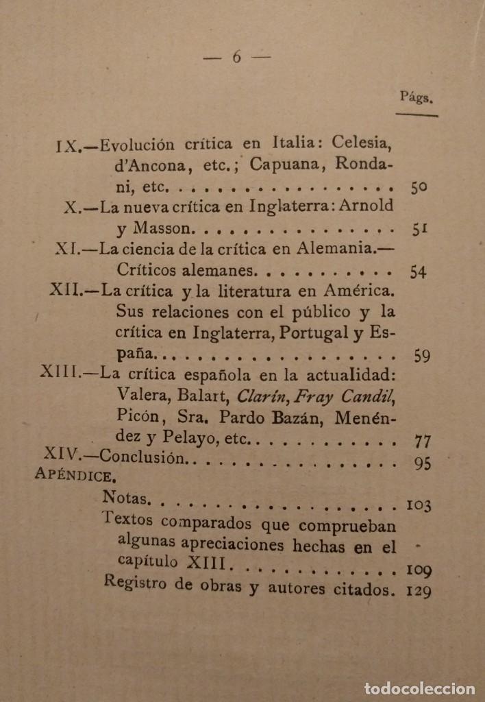 Libros antiguos: Examen de críticos. Francisco A. de Icaza. 1894. - Foto 4 - 142214786