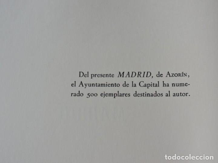 Libros antiguos: LIBRO MADRID AZORÍN - MADRID 1964 - Foto 3 - 142222126