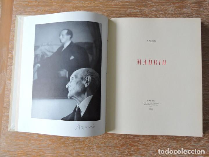 Libros antiguos: LIBRO MADRID AZORÍN - MADRID 1964 - Foto 4 - 142222126