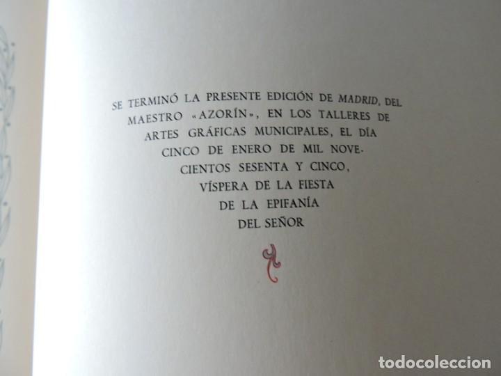 Libros antiguos: LIBRO MADRID AZORÍN - MADRID 1964 - Foto 8 - 142222126