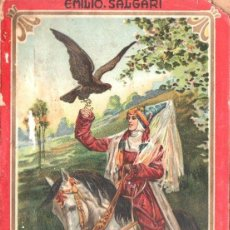 Libros antiguos: EMILIO SALGARI : LAS ÁGUILAS DE LA ESTEPA (MAUCCI, S. F.). Lote 142253065