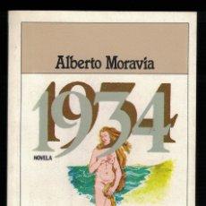 Libros antiguos: ALBERTO MORAVIA, 1934. Lote 142291286
