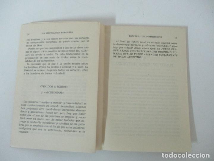Libros antiguos: La Mentalidad Burguesa - Mons. Alfred Ancel - Temas Sociales - Año 1962 - Foto 4 - 142381622