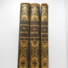 Libros antiguos: HISTORIA GENERAL DE ESPAÑA POR EL PADRE MARIANA - 1852 - ILUSTRADA - COMPLETA. Lote 142465054
